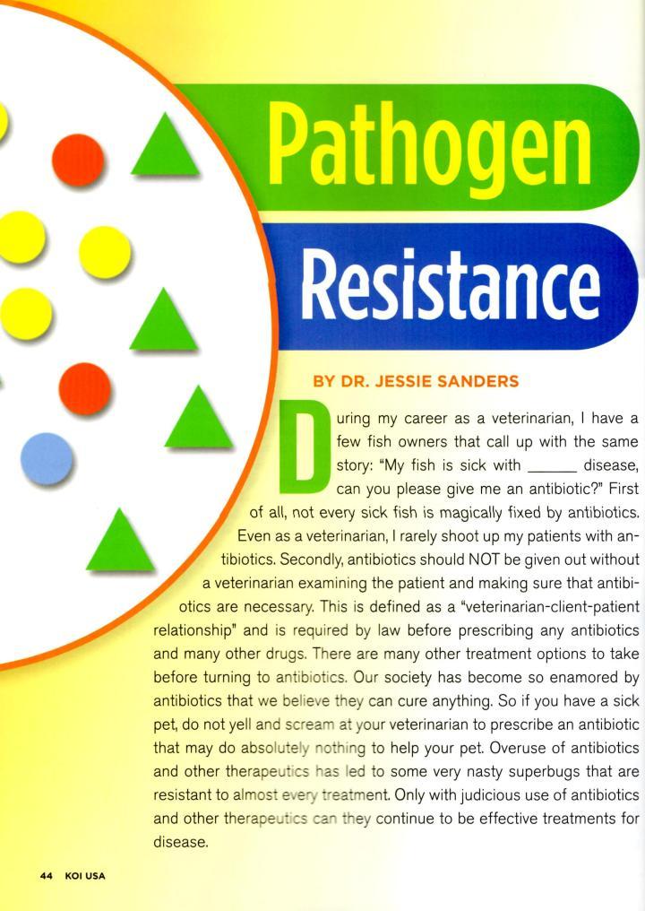 Pathogen Resistance - Page 1